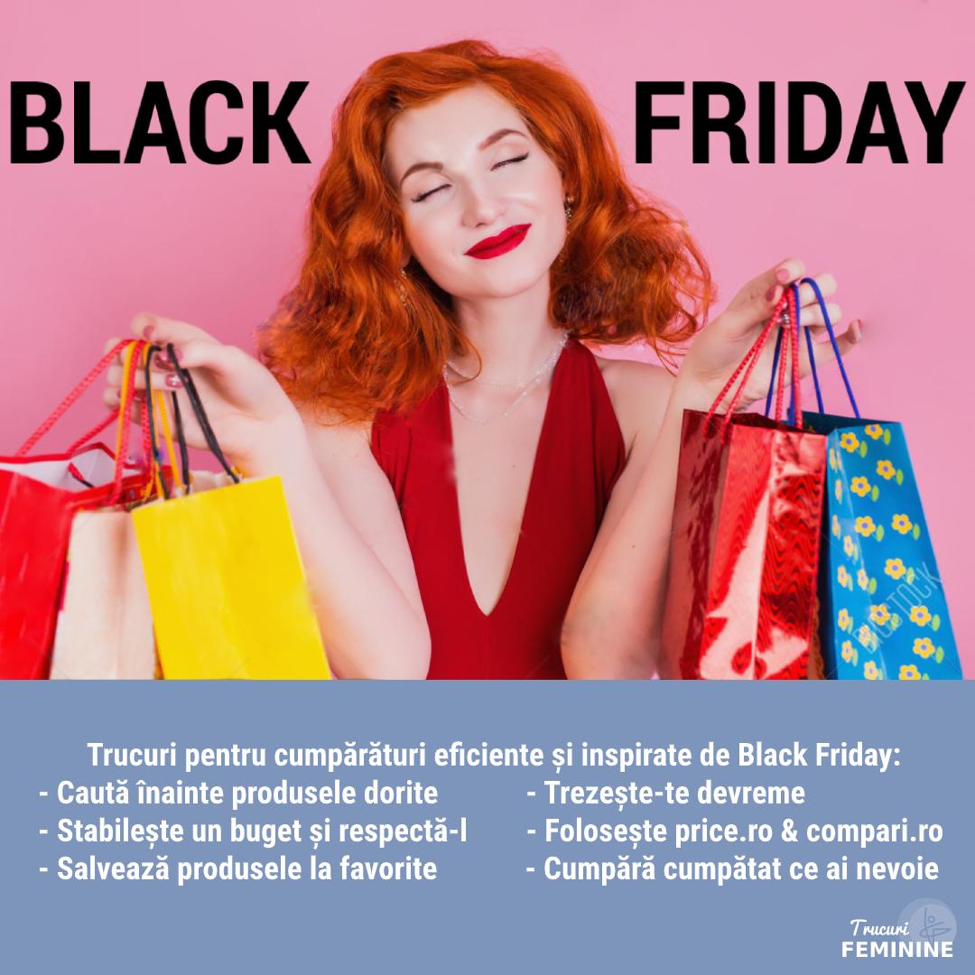 Pregătește-te de Black Friday! Cumpără inteligent și prinde cele mai tari oferte