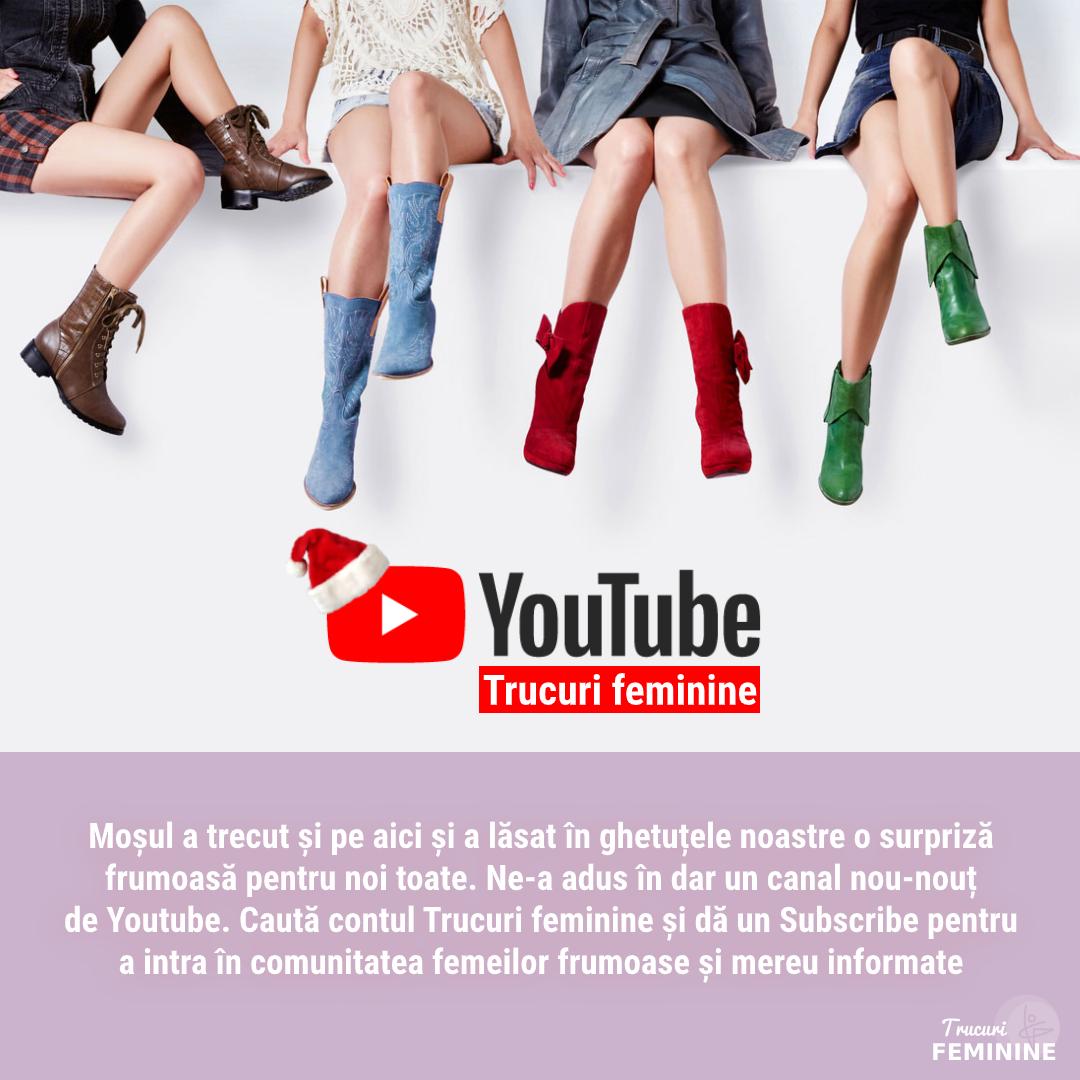 Moșul ne-a adus cel mai frumos cadou – contul de youtube Trucuri feminine