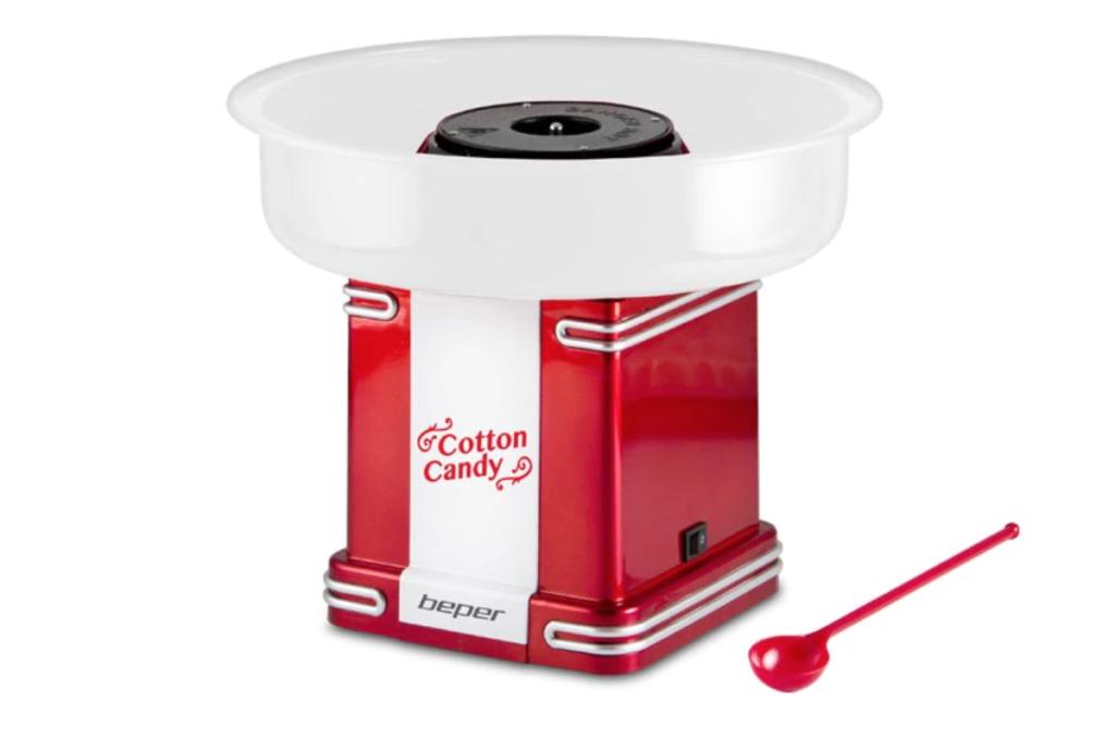 masina vata de zahar aparat de facut bata pe bat cotton candy desert cadou aparat