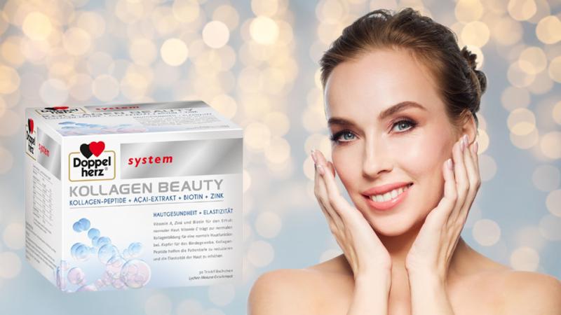 Doppelherz system Kollagen Beauty – Mentine vie tineretea si frumusetea